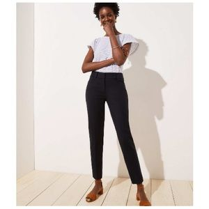 High Waist Crop-fit Dress Pants